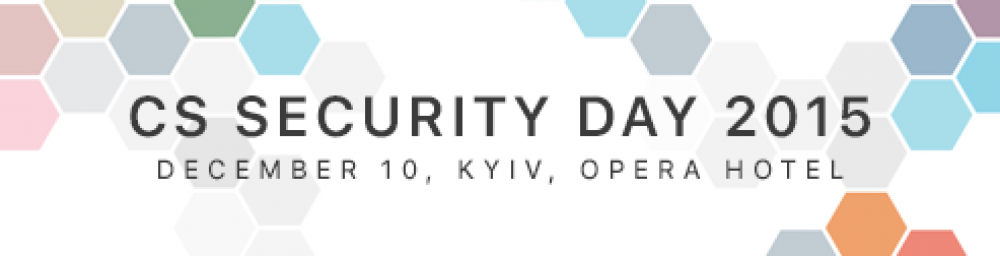 [CS Security Day 2015]